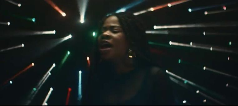 Still uit de clip van 'Hush' Beeld Sidney Van Wichelen
