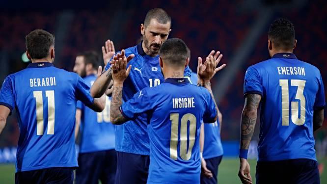 Outsider Italië tankt vertrouwen voor EK met ruime zege tegen Tsjechië