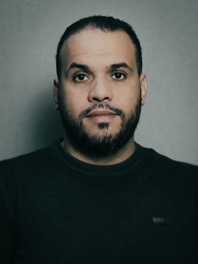 Yassin Elforkani: 'Ik doe een oproep aan alle imams: spreek je uit tegen de bedreigingen aan Lales adres. Als moslim is dat je plicht.' Beeld Jitske Schols