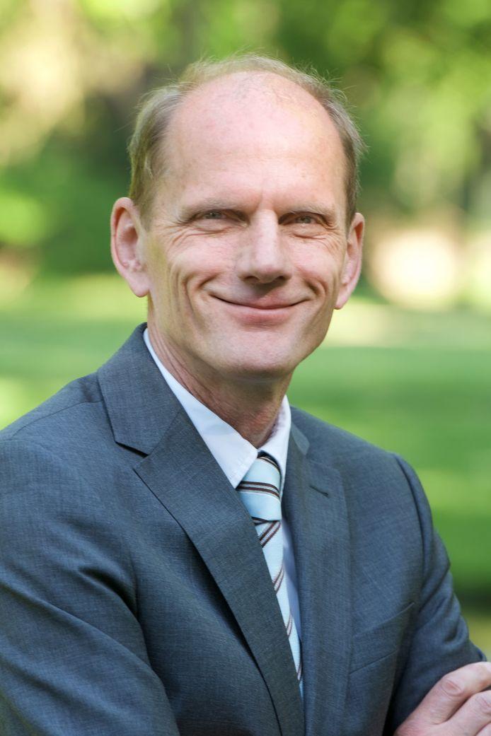De Rhedense wethouder Dorus Klomberg.