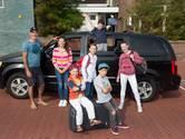 'Met vijf kinderen val je in de categorie groepsreizen'