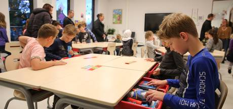 Gezonde spanning op eerste  lesdag nieuwe brede school in Twello