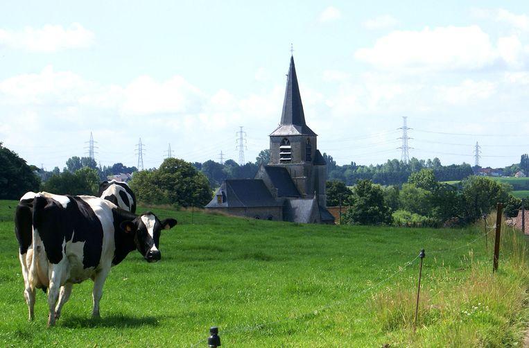 De beschermde Sint-Gorikskerk van Kobbegem
