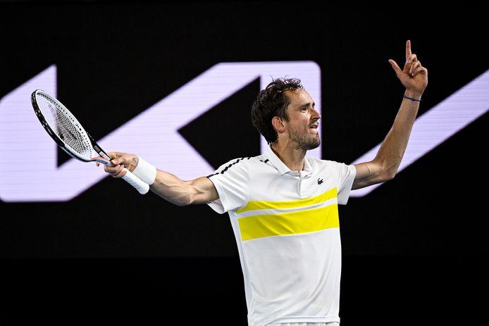 Medvedev speelt de finale tegen Djokovic.