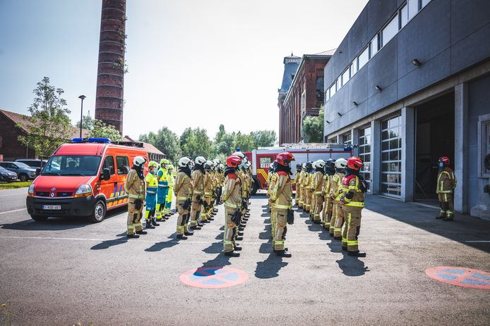 De Gentse brandweer gaat vanaf 26 oktober acties voeren