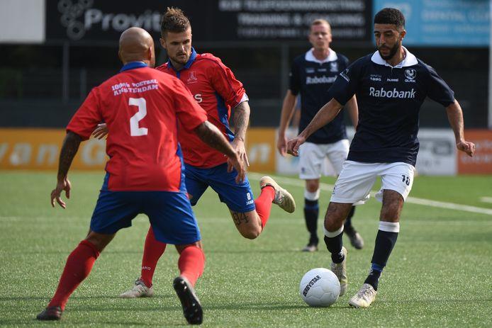 Rachid Bouyaouzan maakte vanaf de stip een einde aan de doelpuntendroogte bij Quick.