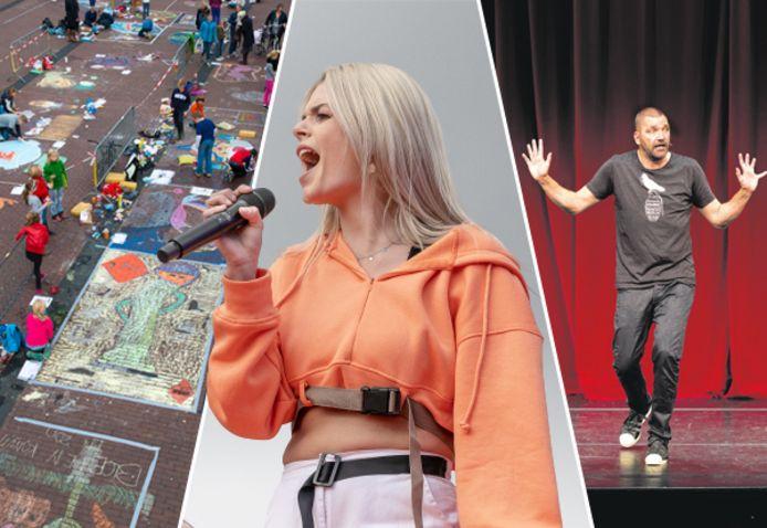 Stoepkrijtfestival, Davina Michelle of misschien Theo Maassen? Wat wil jij graag doen of zien tijdens de Dordtse Feesten?