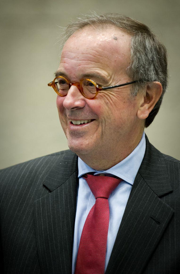 Waarnemend ombudsman Frank van Dooren. Beeld null