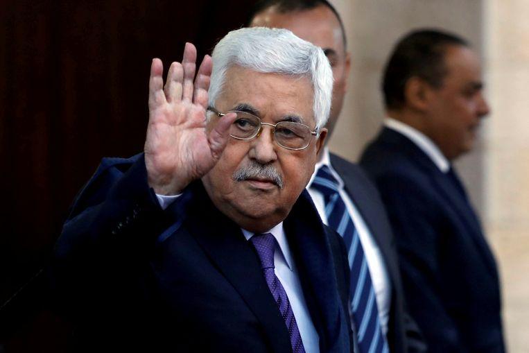 Palestijns president Mahmoed Abbas. Beeld Reuters