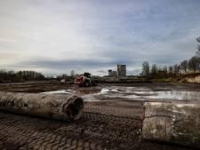 Muur is om bij insteekhaven Helmond: op lege vlakte komt bedrijfsgebouw