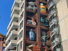 Wauw! Muurschildering JanIsDeMan op flatgebouw in Nieuwegein is af (en dat ziet er zo uit)