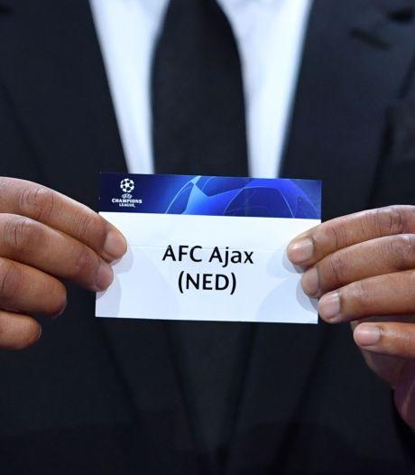 Ajax moet vrezen voor loodzware loting in de Champions League