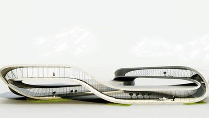 Universe Architecture. Het landscape house.