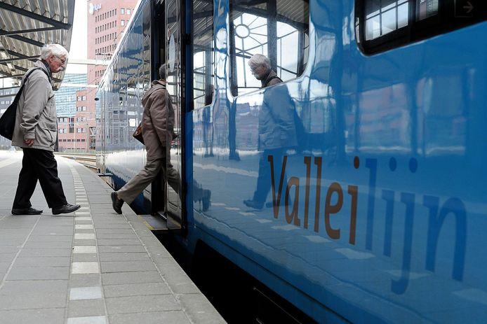 Door werkzaamheden aan station Amersfoort is er dagenlang vertraging op de Valleilijn.