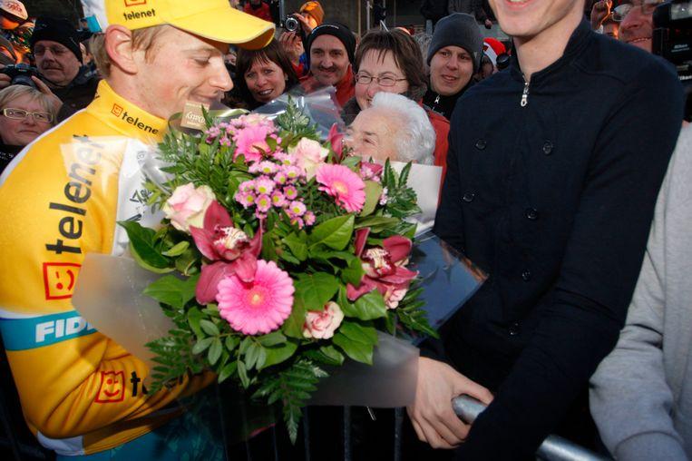 De grootmoeder van Pauwels deelde in de bloemen. Beeld UNKNOWN