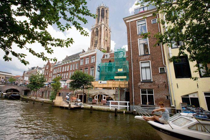 Eén keer emissieloos varen over Utrechtse gracht vervangt negen transporten over de weg.
