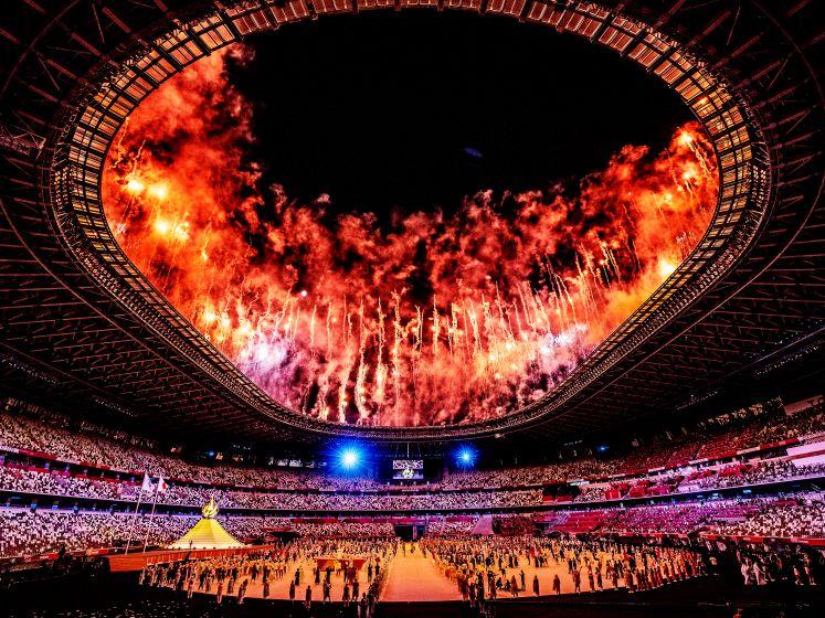 Zo werd Nederland onthaald bij de openingsceremonie van De Spelen