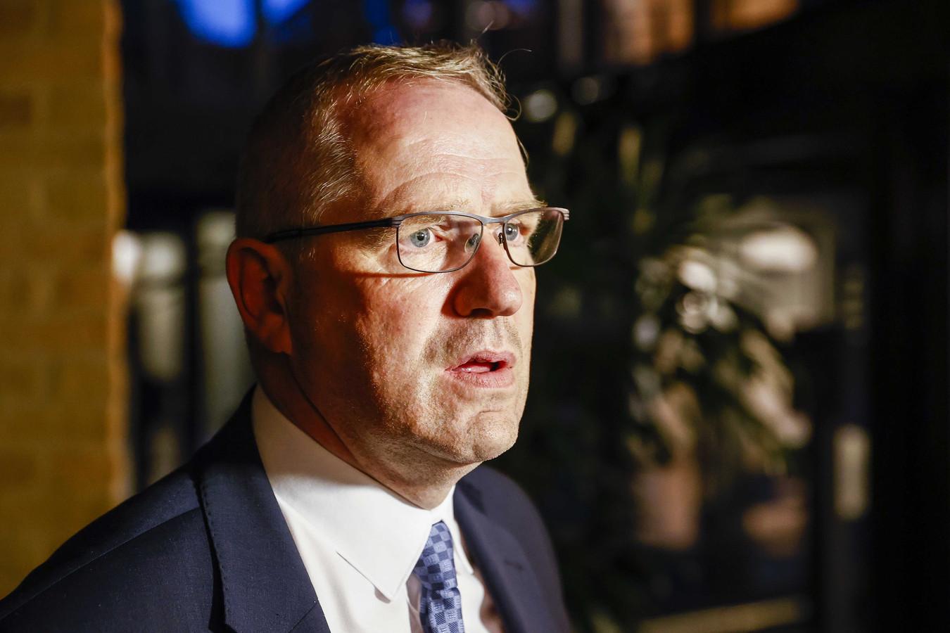 De dinsdagavond na een vernietigend integriteitsonderzoek opgestapte SGP-wethouder Geert Post.