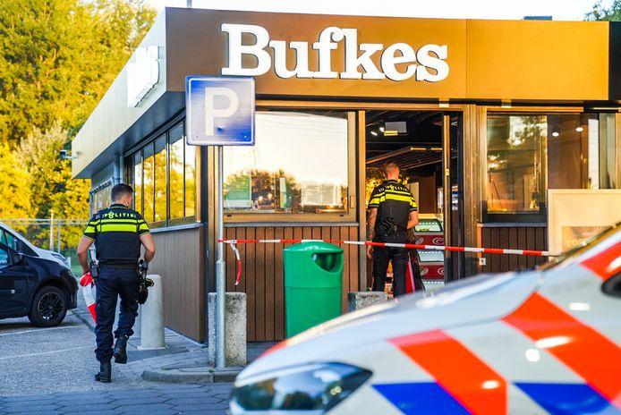 Overval op tankstation in Eindhoven.