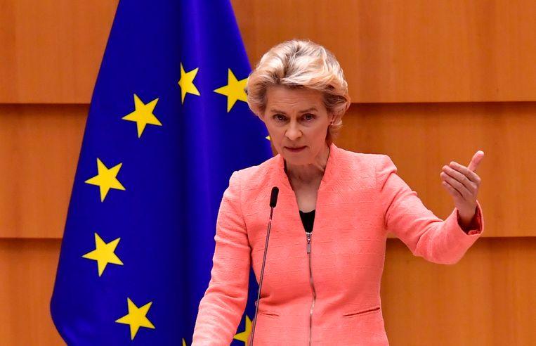 Ursula von der Leyen. Beeld AFP