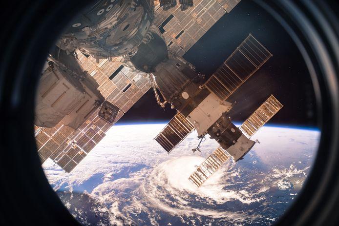 Het Internationaal Ruimtestation.