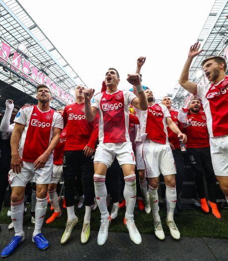 Ajax kan bij winst op AZ feesten, maar zonder schaal: 'Gewoon plankgas vieren'