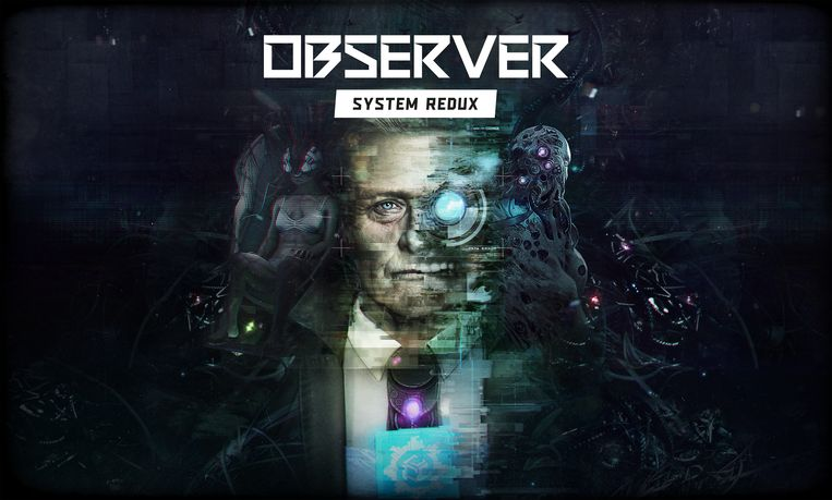 Cover van 'Observer: System Redux' met Rutger Hauer. Beeld Bloober Team
