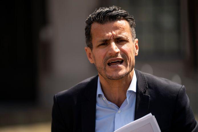 Fractievoorzitter Farid Azarkan (DENK).