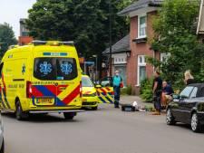Ambulance stuit op ongeluk Apeldoorn, fietser met hoofdwond naar het ziekenhuis