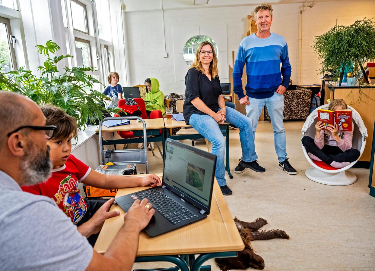 Op basisschool Klein Rotterdam in Zevenkamp kunnen kinderen leren wat ze willen.