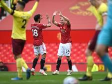 Jarige Van de Beek belangrijk voor winnend United, Arsenal deelt tik uit aan Fulham
