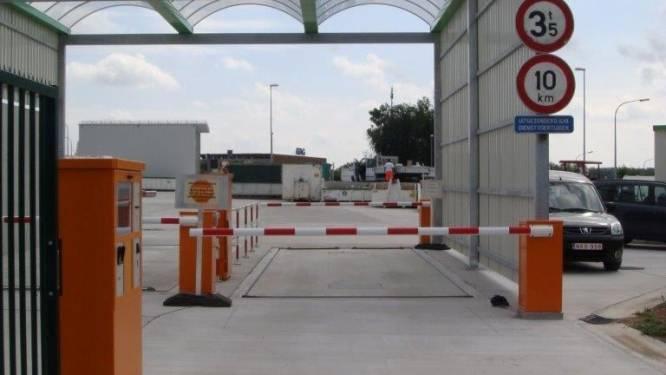 Technische storing op containerparken: betalen met bancontact tijdelijk niet mogelijk