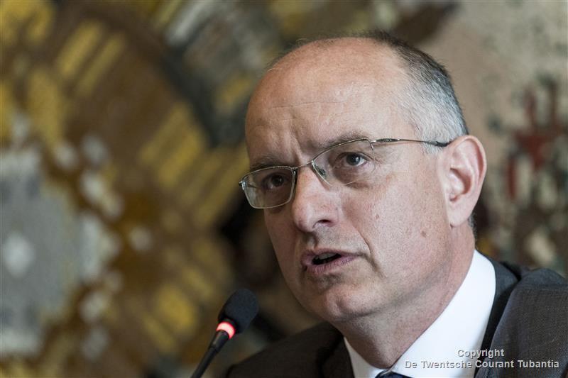 Onno van Veldhuizen, burgemeester van Enschede en regiovoorzitter van Twente.