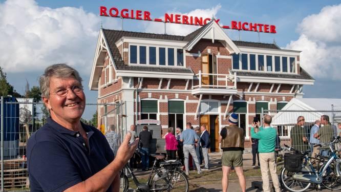 Stukje historie weer terug op oude ijzergieterij in Bergen op Zoom: 'Iedereen kent dit pand'