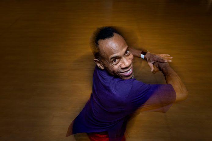 Sheldon Christiaan doet mee aan De Dansmarathon.