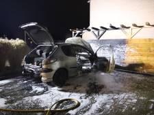 Auto uitgebrand in Opheusden
