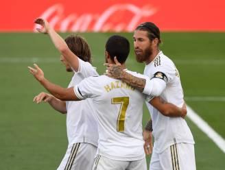 Nieuwe domper voor Real Madrid: na Hazard ook Sergio Ramos weken out