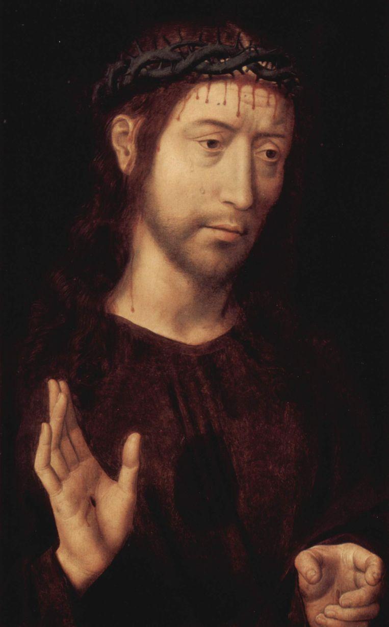 Christus met doornenkroon. Beeld Genova, Musei di Strada Nuova