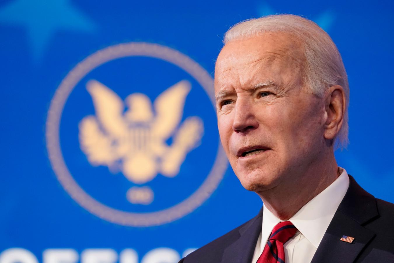 Le président élu Joe Biden.