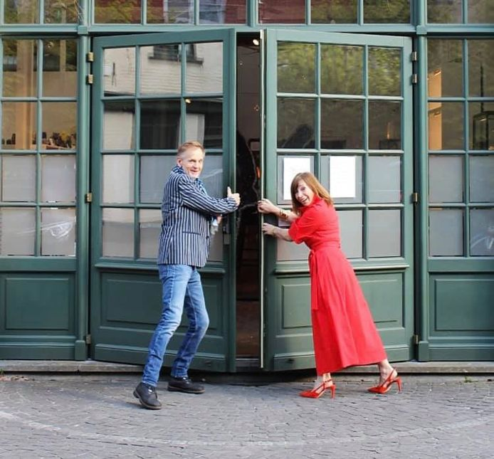 Will De Lorijn en Vera Borremans, de oprichters.