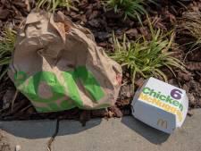 Vrees voor toename zwerfafval door komst Subway en KFC: 'Kijk maar naar de troep bij McDonald's'