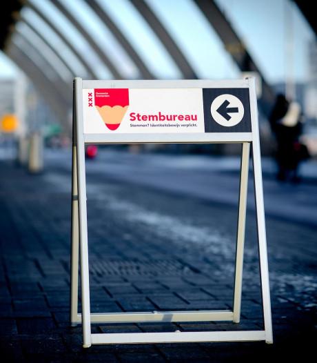 Definitieve prognose Amsterdam pas morgen