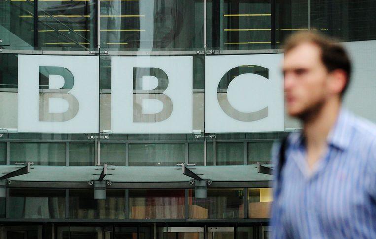 Kantoor van BBC in London. Beeld Reuters