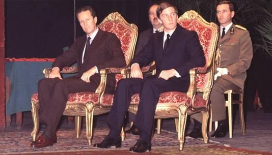 Le prince Philippe et le roi Baudouin, en 1978.