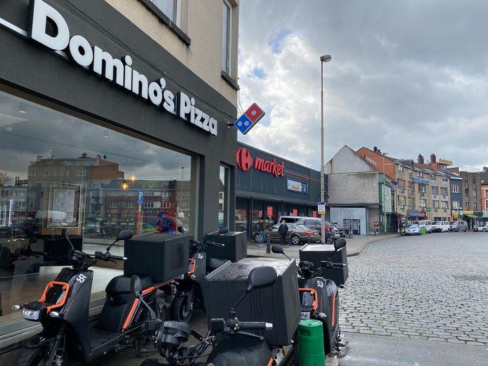 Domino's Pizza aan de Dampoort.