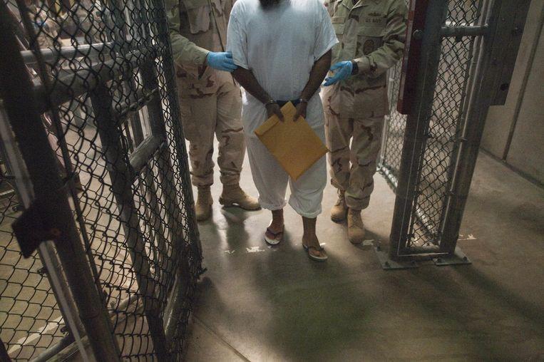 Foto, van Guantanamo Bay uit 2010, ter illustratie. Beeld afp