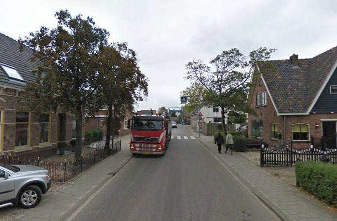 De Kerkweg in Driebruggen.
