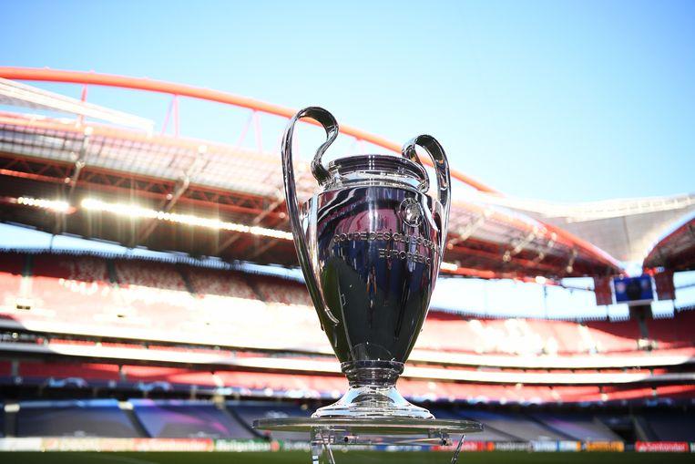 De Champions Leaguebeker. Beeld Getty Images