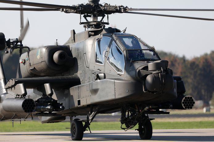 Een Apache helikopter, foto ter illustratie