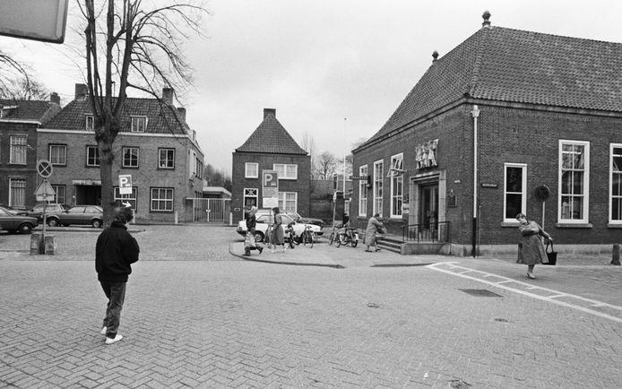 Postkantoor aan de Heuvel. Foto in 1986. Nu komt er een restaurant.
